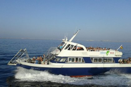 Aquabus ferry Ibiza <-> Formentera