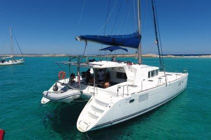 Viaje en barco privado a Formentera
