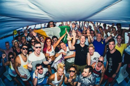 Connect Ibiza boat party hits the waves