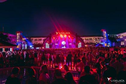 Disturbing Ibiza bring an urban fiesta to Ushuaïa