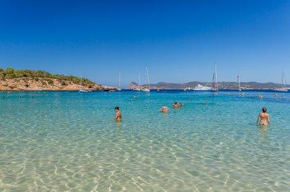 VIDEO: Cala Bassa, a beach jewel of Ibiza's west