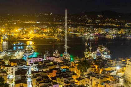 Top superyachts to see in and around Ibiza