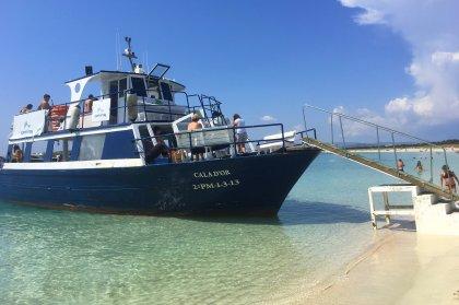 All aboard the Formentera Explorer