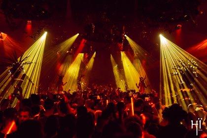 Double closing party action at Ushuaïa and Hï Ibiza