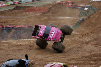 Monster trucks come to Ibiza