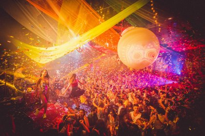 Lío goes to Pacha for New Year's Eve