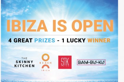 Ibiza's open and we've got a fantastic prize give-away to prove it