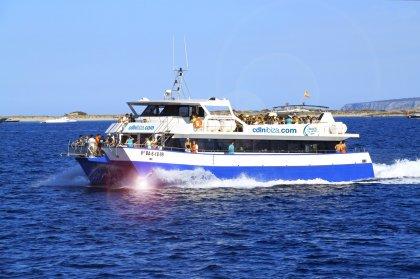 Fiestas en barco - Playa d'en Bossa